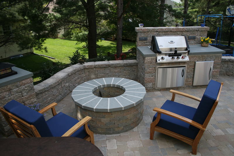 Fire pits this helps turn backyard space into extended living