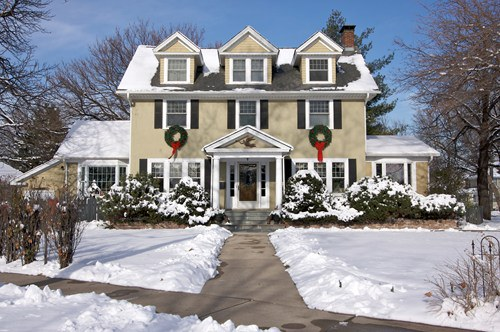Winter Landscaping Can Help Sell Your House Quickly